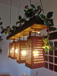 Lampu gantung parutan