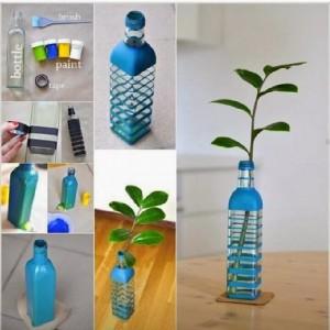 Vas dari botol bekas